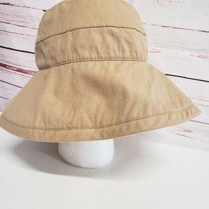 Coolibar safari sun shade hat khaki hat